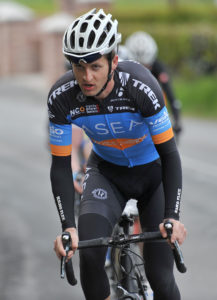 30th of April, 2016; Mark Dowling, Asea Wheelworx, in action during Stage 1 of the AmberGreen Energy Tour of Ulster. Moy, Co. Tyrone. Picture credit: Stephen McMahon / Tour of Ulster