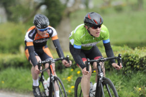1st of May, 2017; Christopher McGlinchey, Cycling Ulster, in action during Stage 3 of the AmberGreen Energy Tour of Ulster. Moy, Co. Tyrone. Picture credit: Stephen McMahon / Tour of Ulster